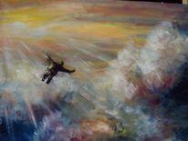 Malerei, Fliegen