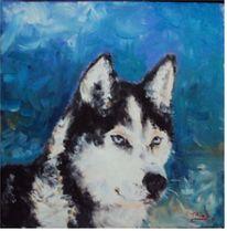 Malerei, Husky