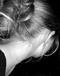 Haare, Schwarz weiß, Fotografie, Menschen