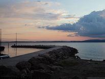 Steg, Strand, Sonne, Wasser