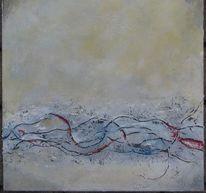 Acrylmalerei, Collage, Malerei