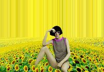 Sonnenblumen, Denken, Meditation, Blumen