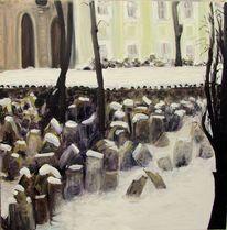 Art coach international, Winter, Prag, Friedhof