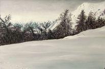 Alpen, Kids, Skifahren, Pyrenees