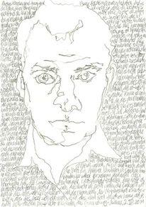 Kopf, Handschrift, Gesicht, Lineare