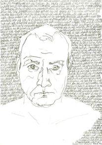 Täglich, Gesicht, Schwarz weiß, Portrait