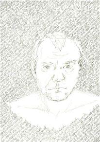 Kopf, Gesicht, Schwarz weiß, Portrait