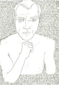 Zeichnung, Täglich, Lineare, Handschrift
