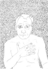 Reihe, Hand, Selbstportrait, Täglich