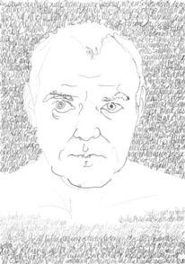 Lineare, Schrift, Portrait, Handschrift
