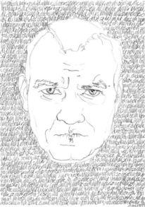 Täglich, Schwarz weiß, Selbstportrait, Gesicht