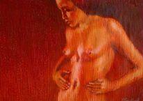 2011, Zeichnungen, Malerei, Weiblichkeit