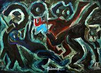Hufeisen, Malerei