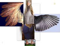 Flügel, Alge, Gänse, Gänsefüßchen