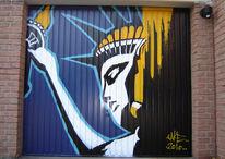 Graffiti, Malerei