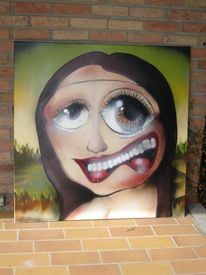 Graffiti, Street art, Malerei,