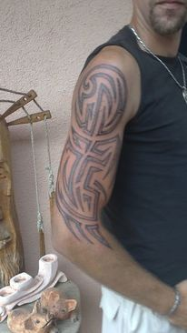 Tätowierer, Tribal, Tattoovorlagen, Cover tattoo