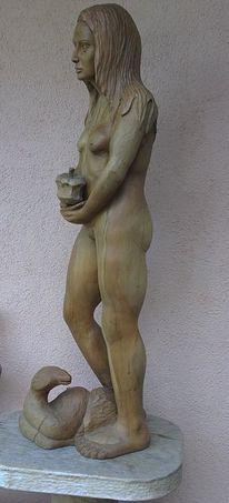 Skulptur, Figur, Schnitzkunst, Sohn