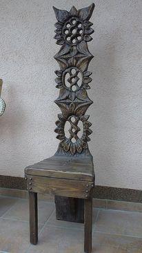 Stuhl, Design stühle, Holzstuhl, Design
