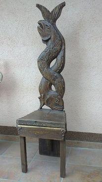 Antike, Schnitzkunst, Stuhl, Antike stühle