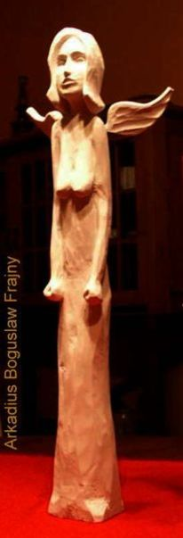 Holzengel, Figur, Skulptur, Engel
