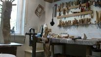Werkstat, Atelier, Pinnwand,