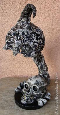 Kunstobjekte, Lampe, Skulptur, Leuchter