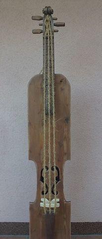 Cd plattenständer, Regal, Geige, Designmöbel