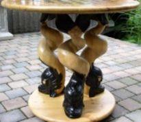 Figur, Designermöbel, Kunstobjekte, Schachbrett