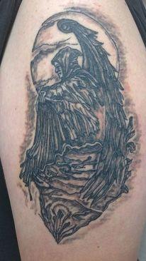 Engel, Schwarzeengel, Nacht, Flügel