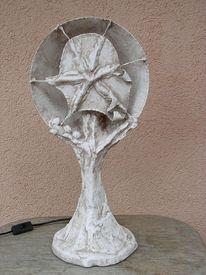 Netzskulptur, Stehlampe, Skulptur, Seestern