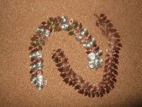 Schmuck, Armband, Silber, Kupfer