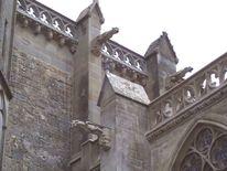 Fabelwesen, Gebäude, Kirche, Stein