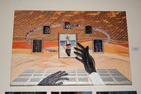 Mars, Hände, Traum, Gewitter