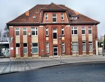 Fotografie, Architektur, Alter, Bahnhof
