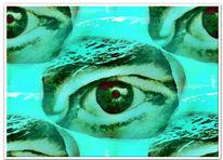 Augen, Digitale kunst, Abstrakt
