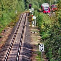 Bahn, Fotografie, Reiseimpressionen, Fernweh