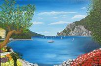 Torbole, Gardasee, Malerei