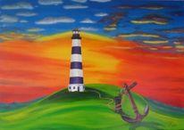 Realismus, Anker, Energie, Leuchtturm