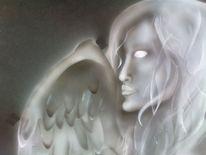 Flügel, Airbrush, Engel, Fau