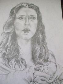 Mutter, Frau, Baby, Angst