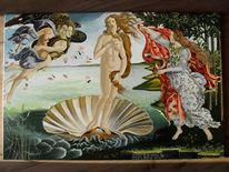 Menschen, Realismus, Malerei, Interpretation