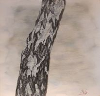 Acrylmalerei, Landschaft, Rinde, Gemälde