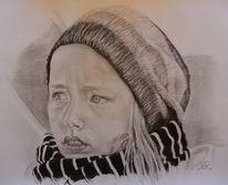 Pastellmalerei, Pencil portraitzeichnung, Portrait, Menschen