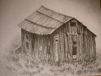 Bleistiftzeichnung, Zeichnung, Landschaft, Zeichnungen