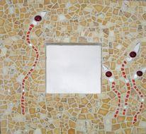 Mosaik, Glas, Juraschiefer, Tiffanyglas