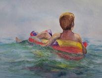 Schaukel, Welle, Ferien, Wasser