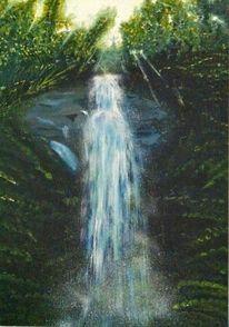 Natur, Wasserfall, Wasser, Landschaft