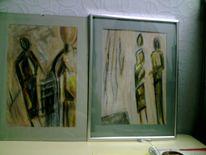 Malerei, Abschied, Trauer