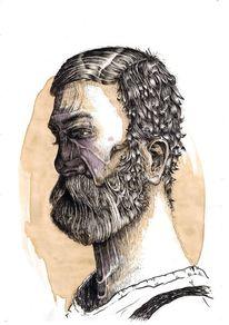 Stillleben, Portrait, Menschen, Zeichnungen